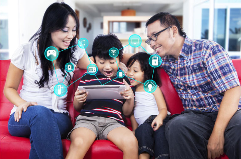 How an Automated Home Can Offer Benefits to Parents