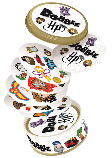 Harry Potter Dobble Card Game on white background