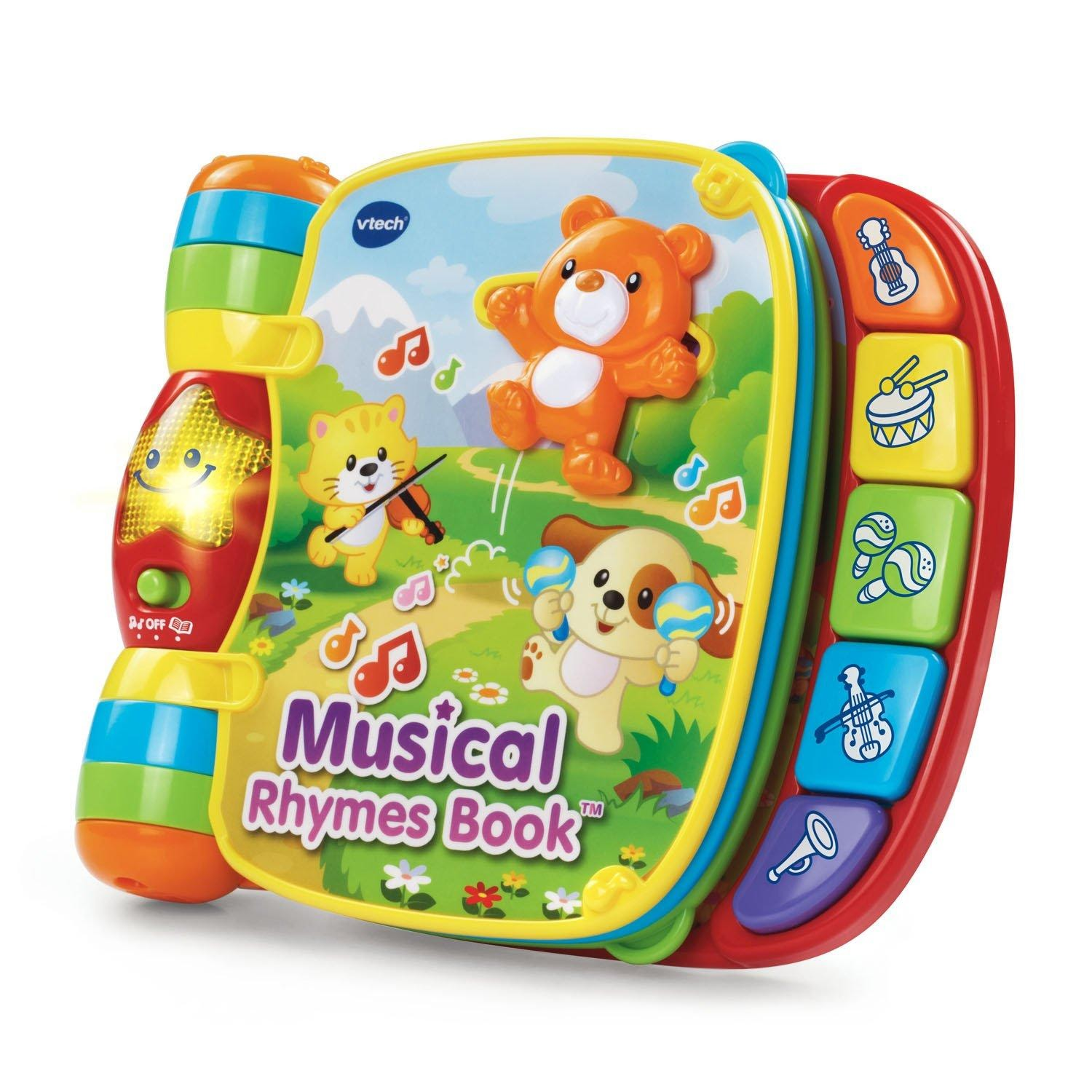 VTech Musical Rhymes Book on white background